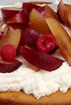 Torta de Yogur con Frutos Rojos