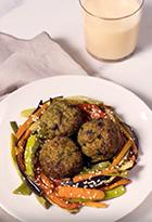 Albóndigas de Brócoli con Vegetales