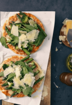 Pizza con brocoli