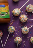 Cake Pops con dulce de leche