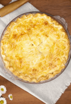 Pastel de pollo con Requeson
